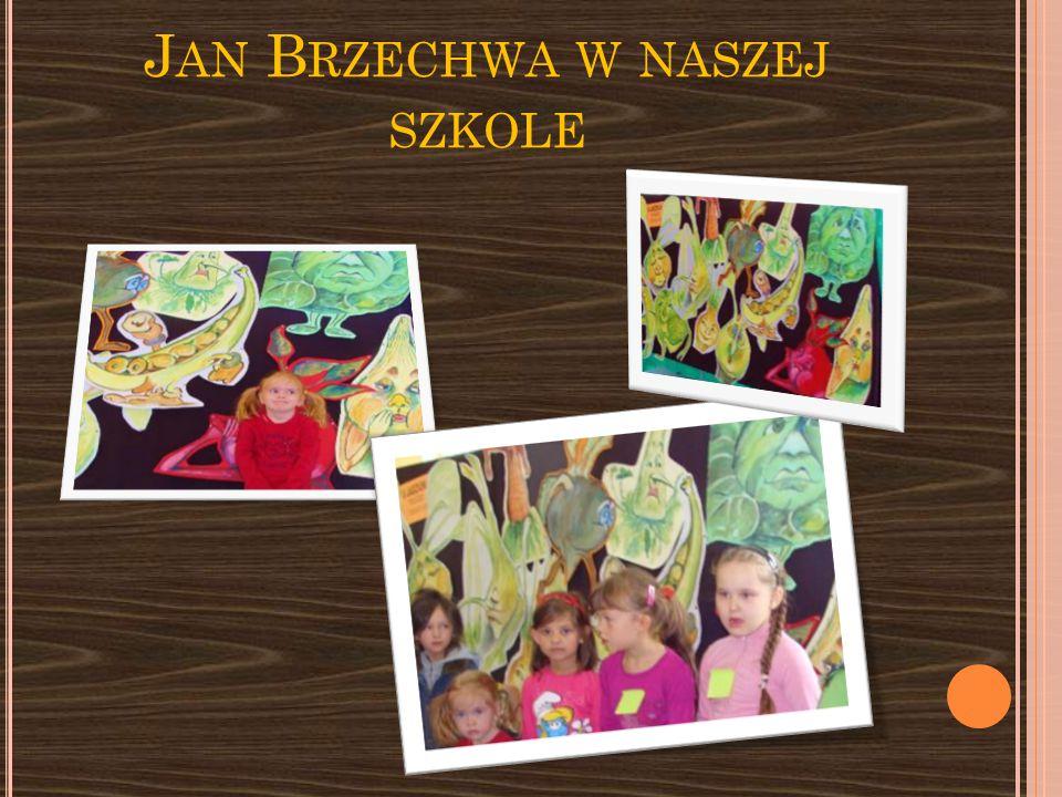 Jan Brzechwa w naszej szkole