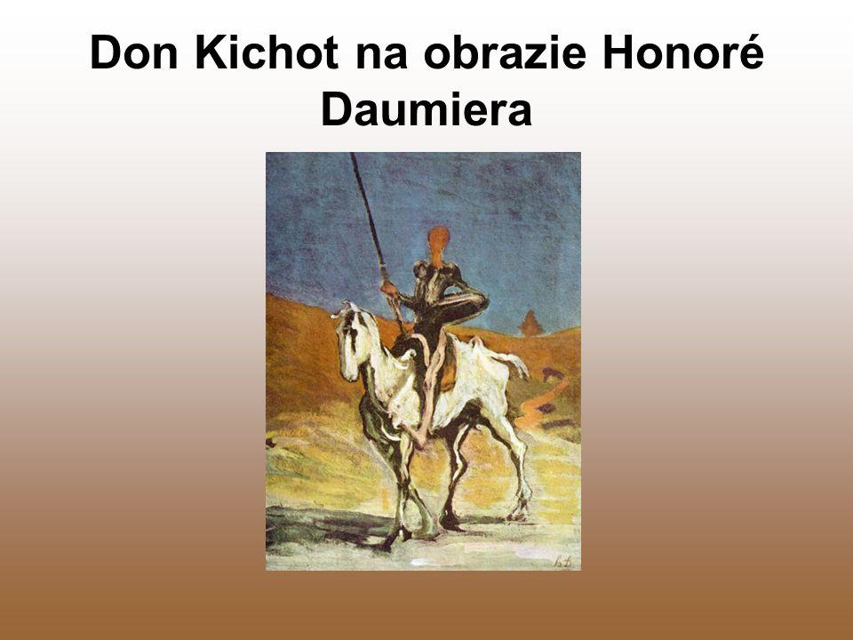 Don Kichot na obrazie Honoré Daumiera