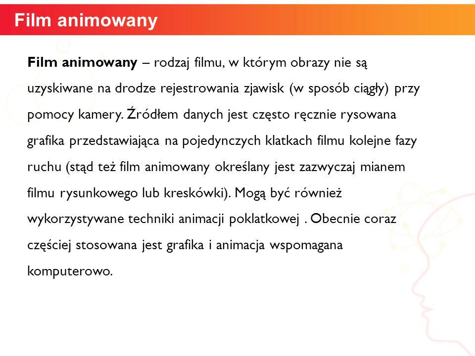 Film animowany informatyka +