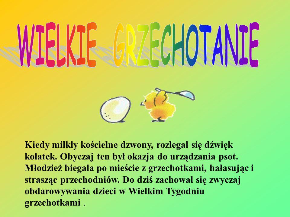 WIELKIE GRZECHOTANIE
