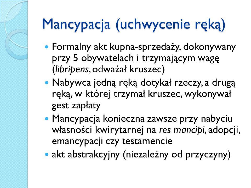 Mancypacja (uchwycenie ręką)