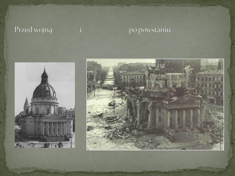Przed wojną i po powstaniu