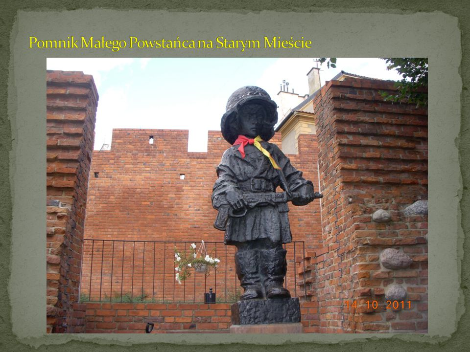 Pomnik Małego Powstańca na Starym Mieście