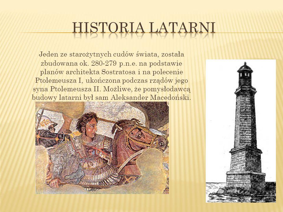 Historia latarni