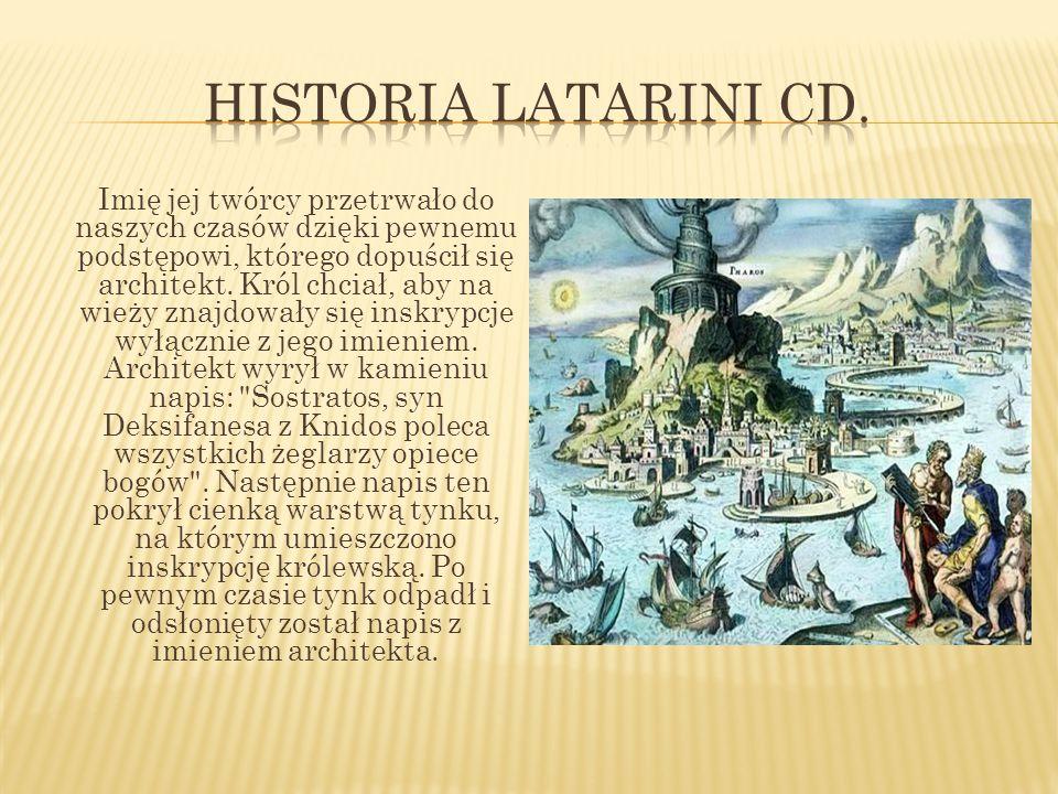 Historia latarini cd.