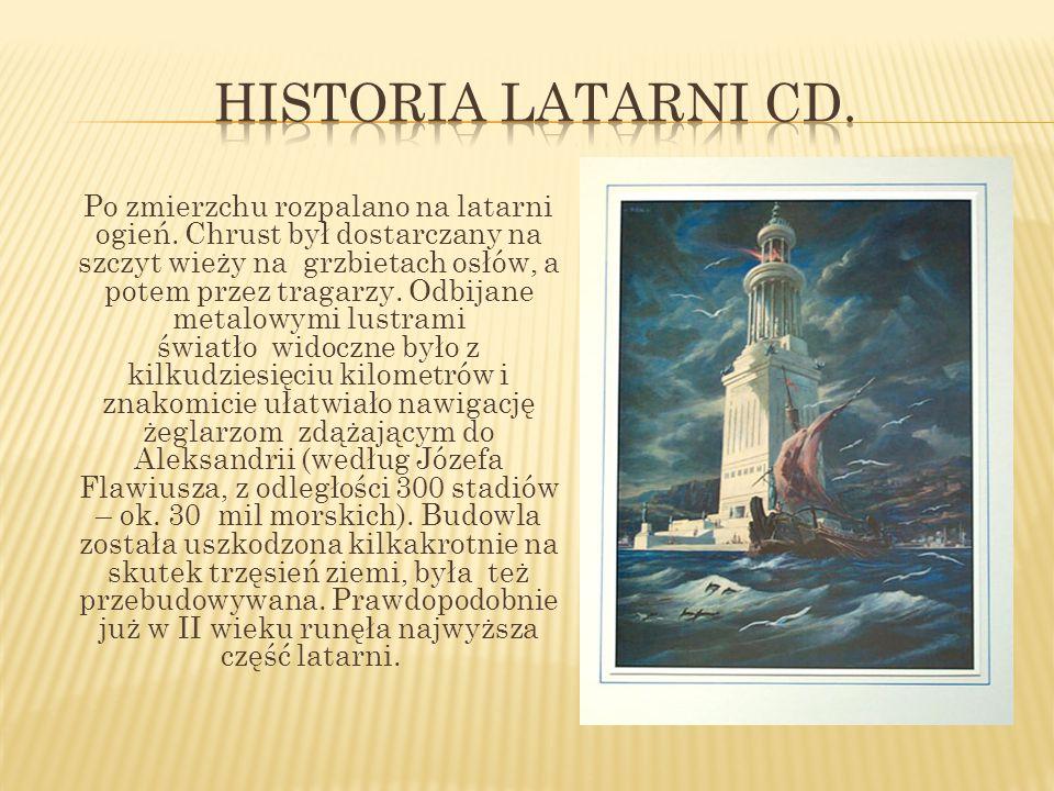 Historia latarni Cd.