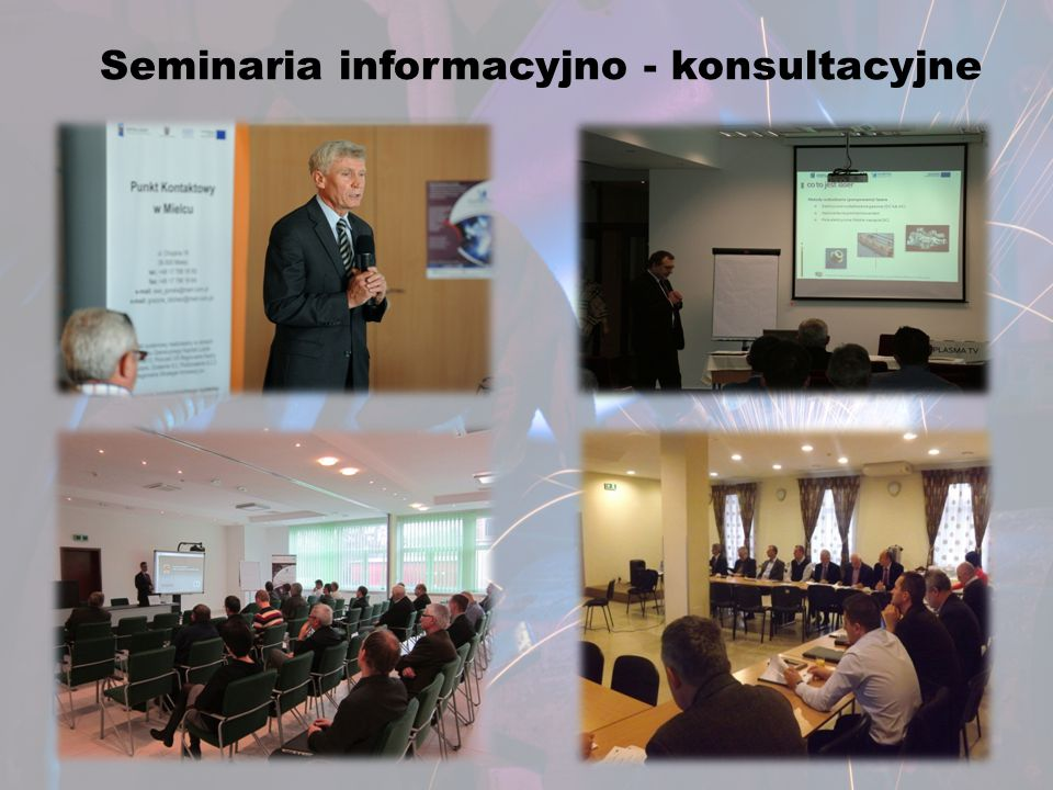 Seminaria informacyjno - konsultacyjne