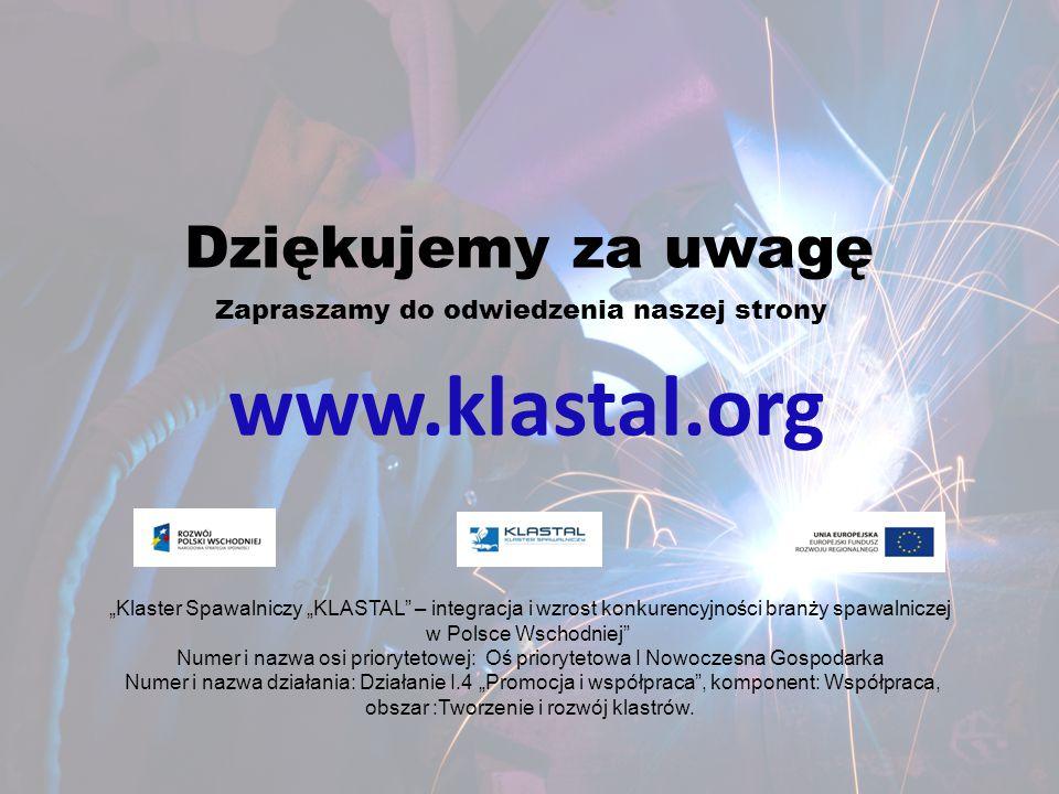 www.klastal.org Dziękujemy za uwagę