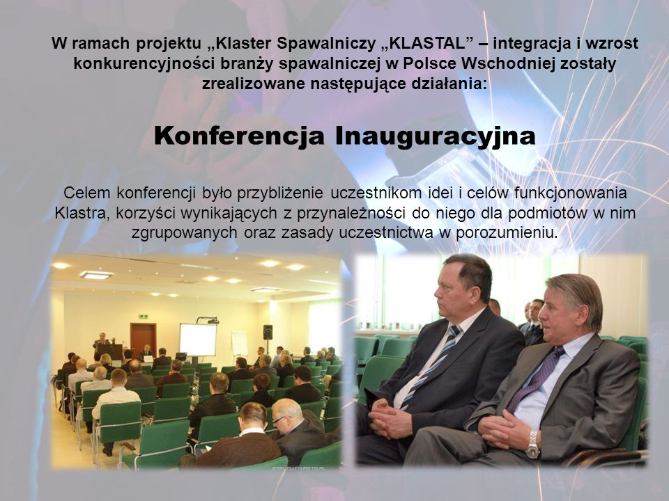 Konferencja Inauguracyjna