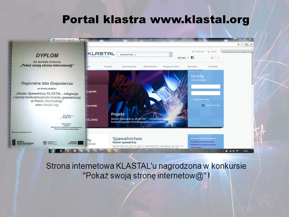 Portal klastra www.klastal.org