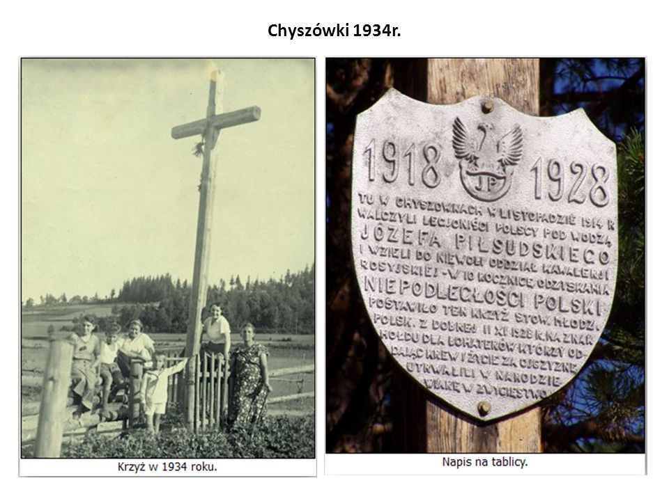 Chyszówki 1934r.