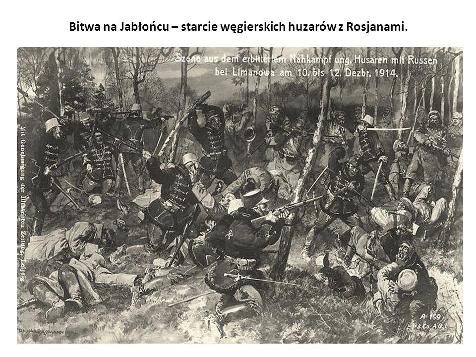 Bitwa na Jabłońcu – starcie węgierskich huzarów z Rosjanami.
