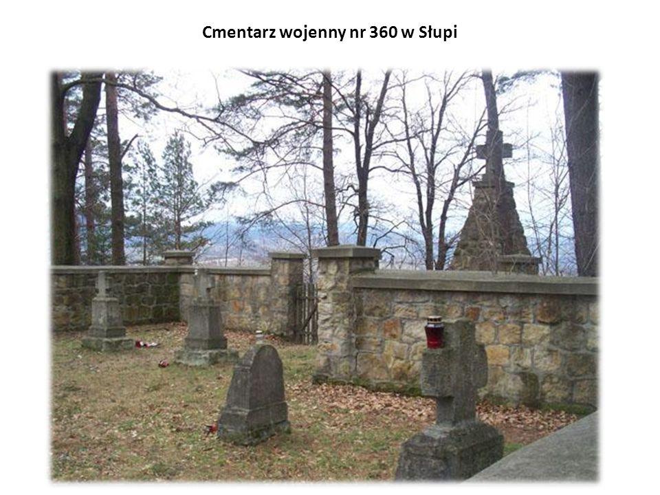 Cmentarz wojenny nr 360 w Słupi