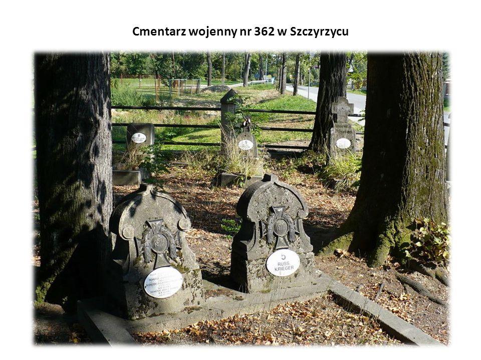 Cmentarz wojenny nr 362 w Szczyrzycu