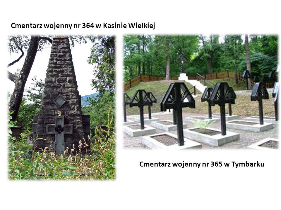 Cmentarz wojenny nr 365 w Tymbarku
