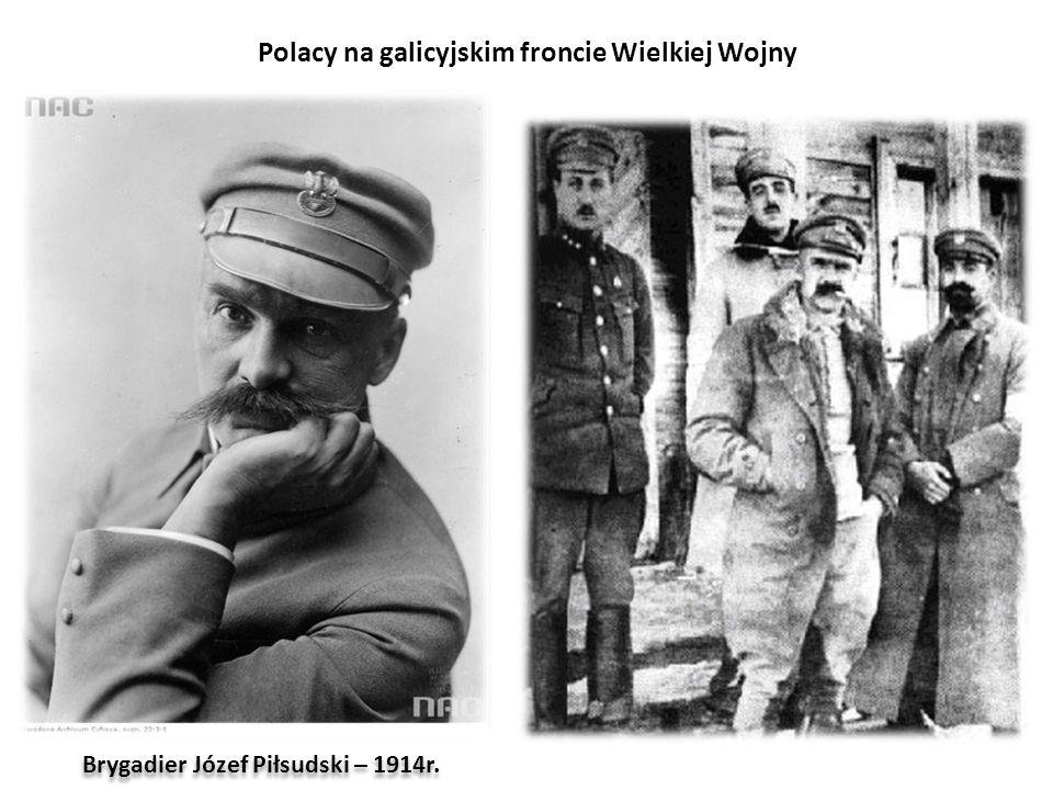 Polacy na galicyjskim froncie Wielkiej Wojny