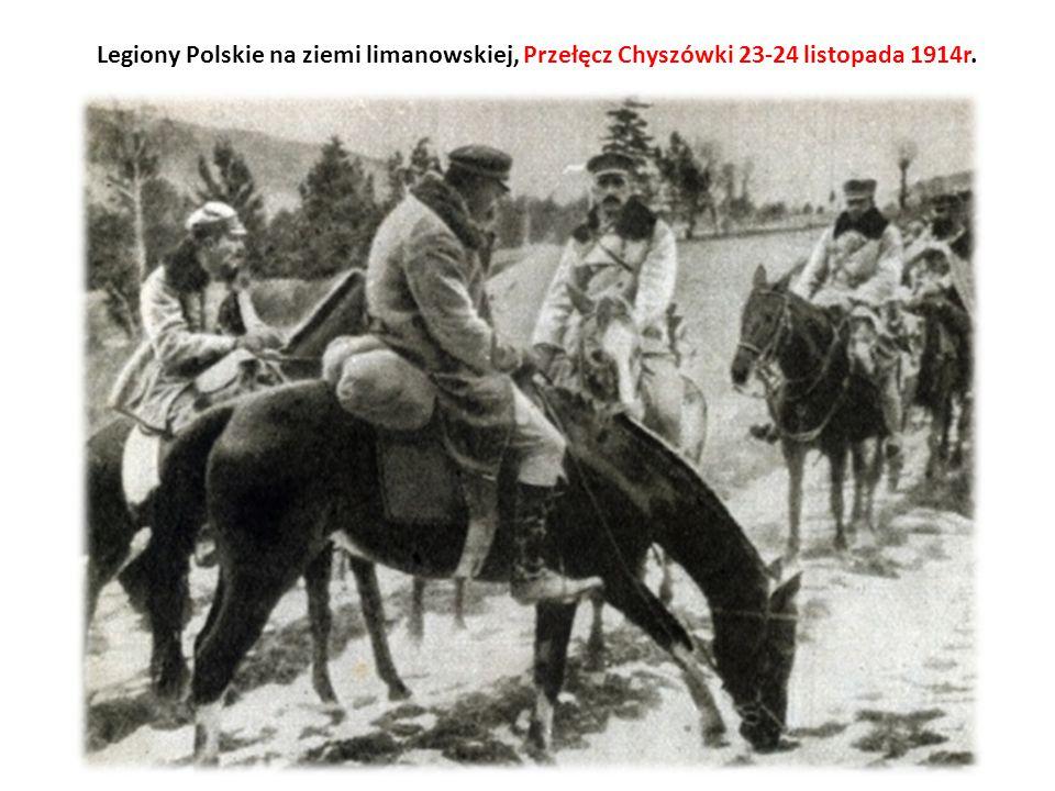 Legiony Polskie na ziemi limanowskiej, Przełęcz Chyszówki 23-24 listopada 1914r.