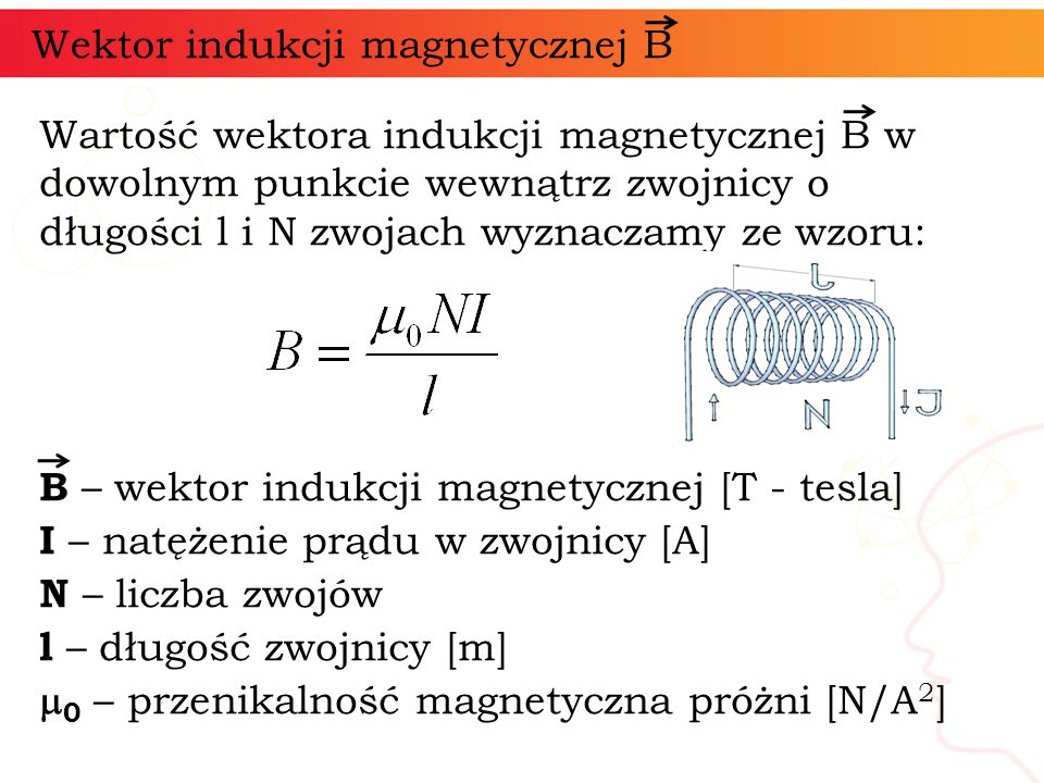 Wektor indukcji magnetycznej B