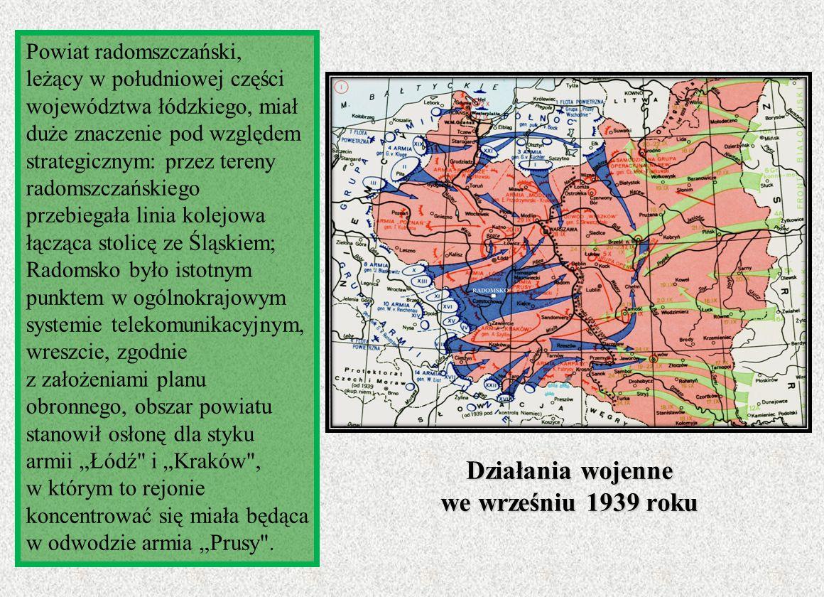 Działania wojenne we wrześniu 1939 roku