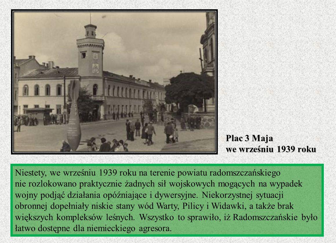 Plac 3 Maja we wrześniu 1939 roku