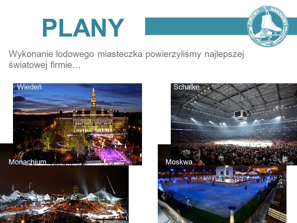 PLANY Wykonanie lodowego miasteczka powierzyliśmy najlepszej światowej firmie… Wiedeń Schalke.