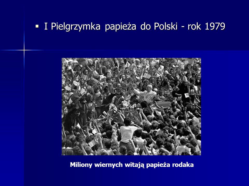 I Pielgrzymka papieża do Polski - rok 1979