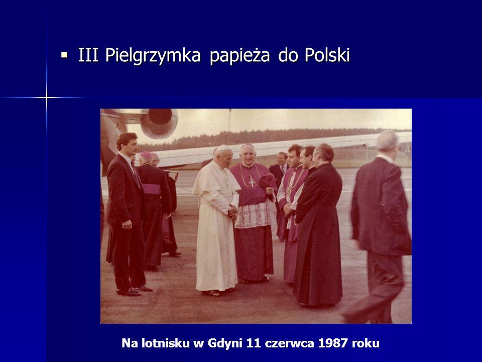 Na lotnisku w Gdyni 11 czerwca 1987 roku
