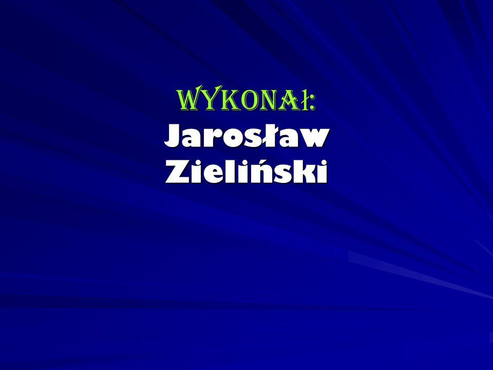 Wykonał: Jarosław Zieliński