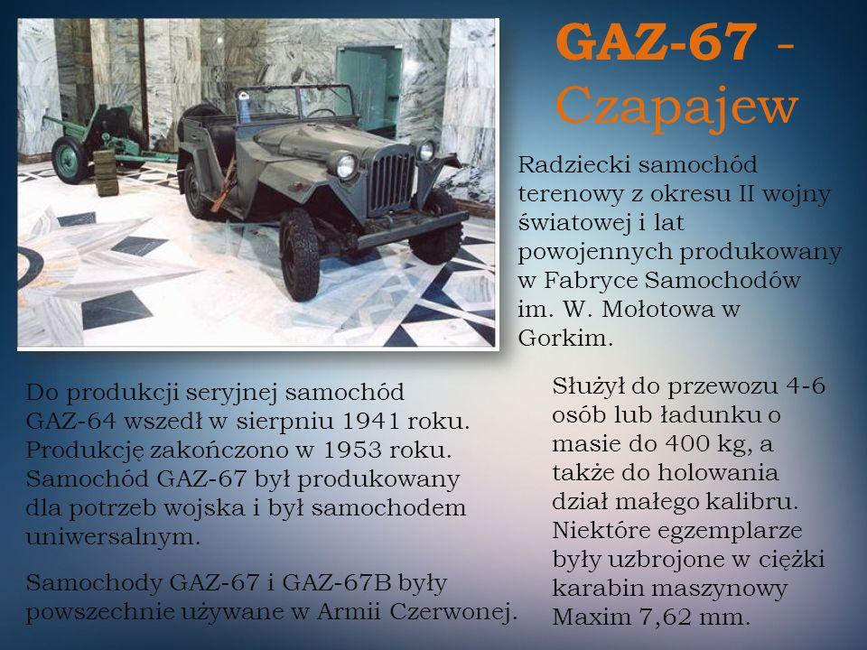 GAZ-67 - Czapajew