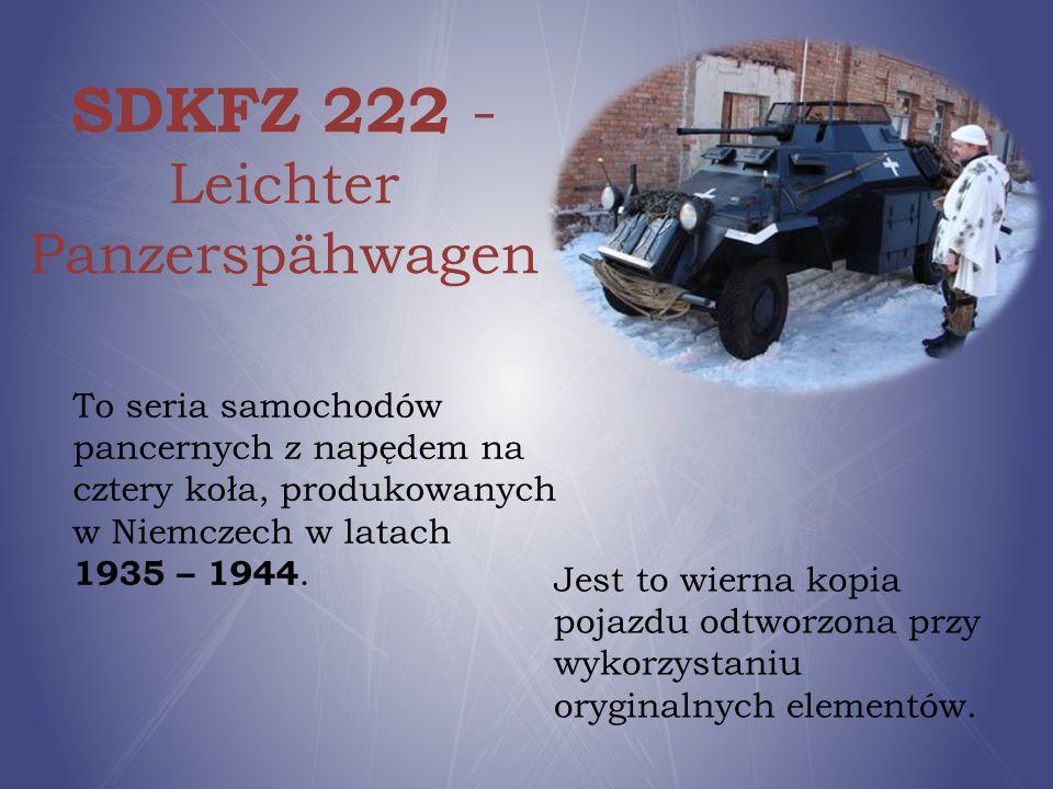 SDKFZ 222 - Leichter Panzerspähwagen