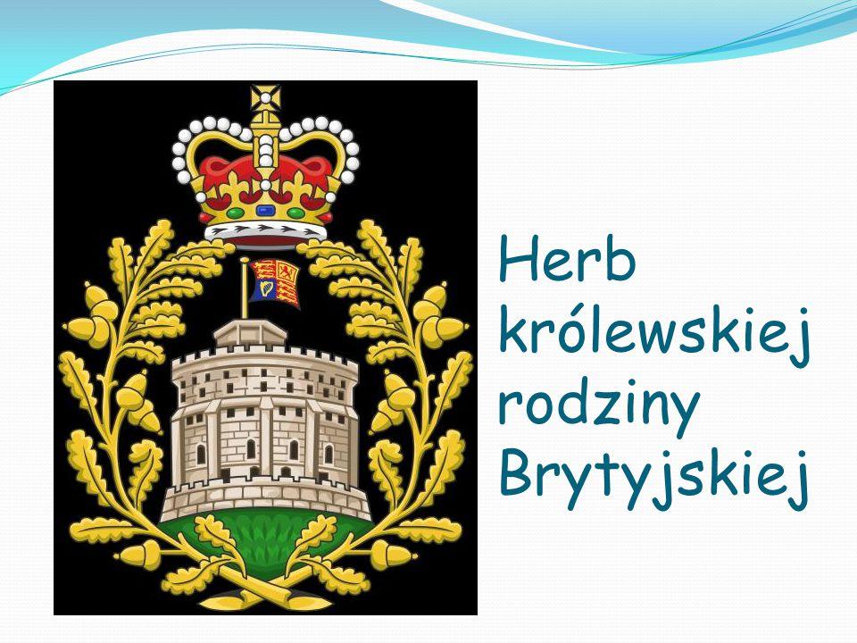 Herb królewskiej rodziny Brytyjskiej