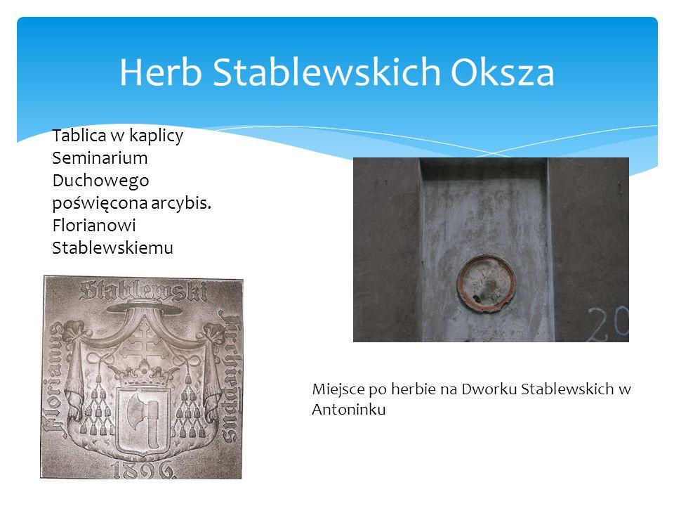Herb Stablewskich Oksza