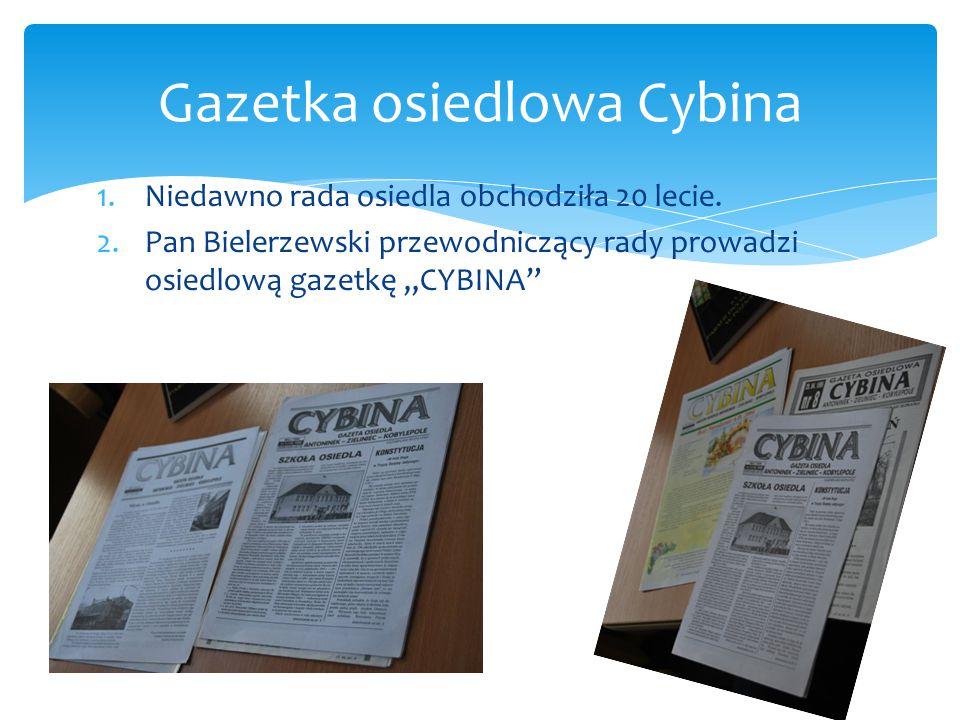 Gazetka osiedlowa Cybina