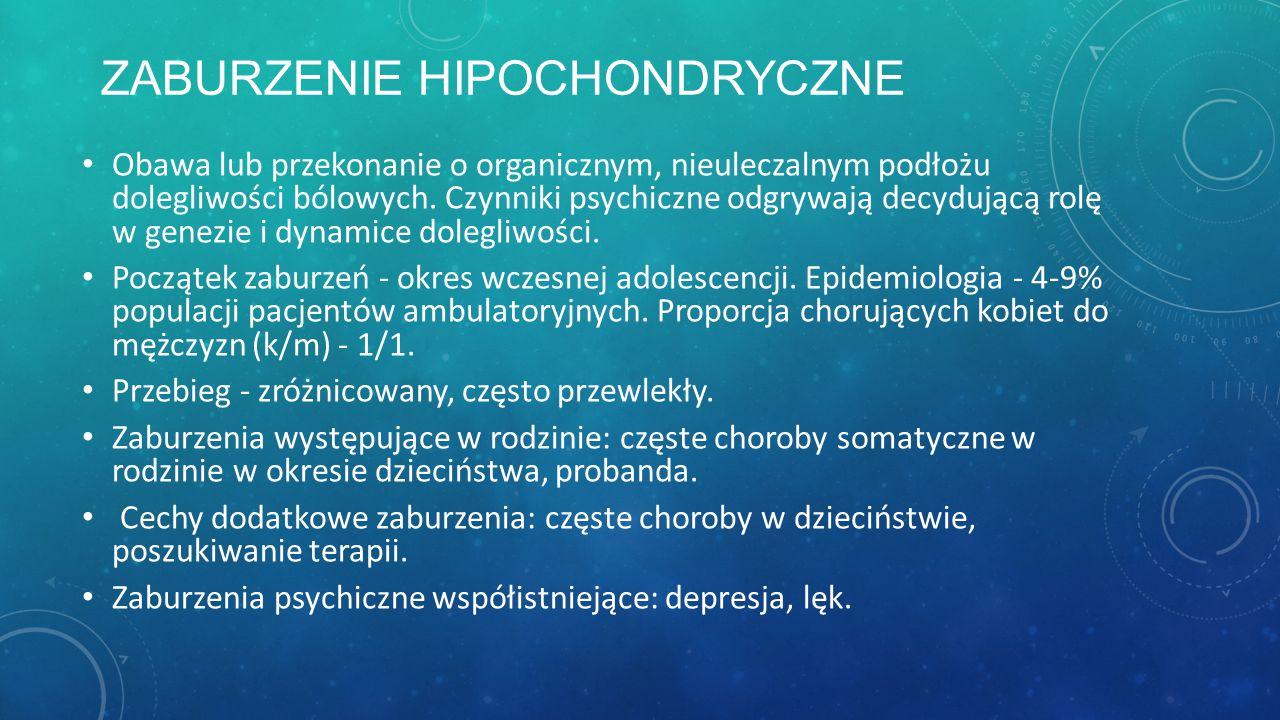 Zaburzenie hipochondryczne