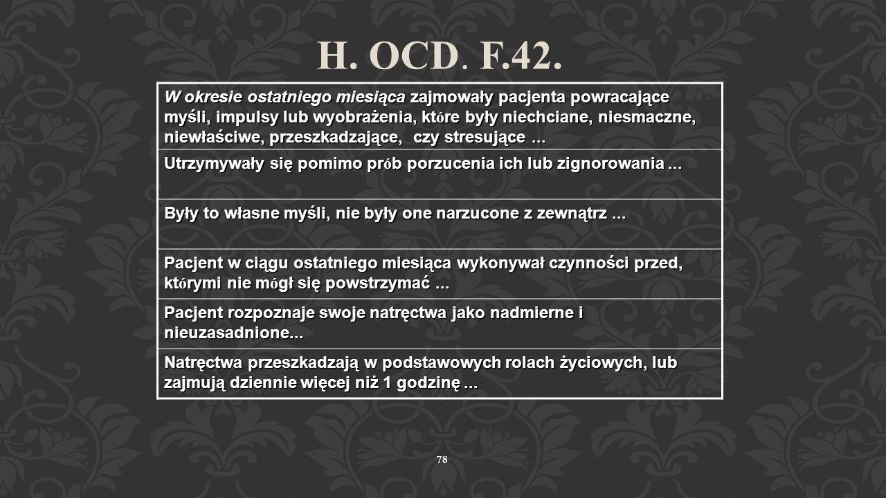 H. OCD. F.42.