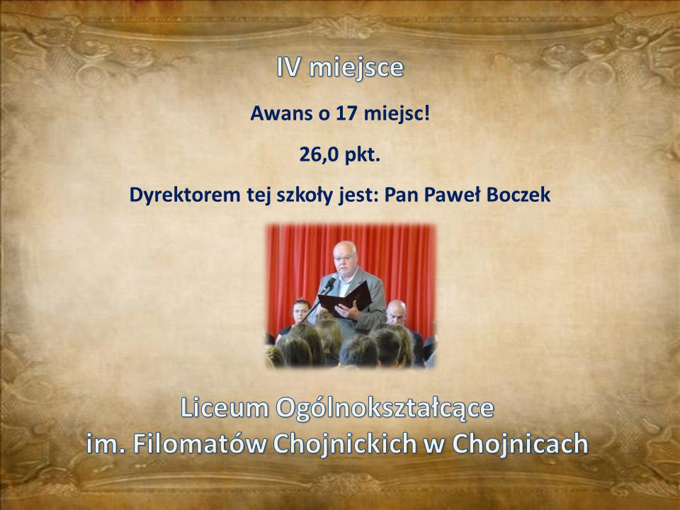 Liceum Ogólnokształcące im. Filomatów Chojnickich w Chojnicach
