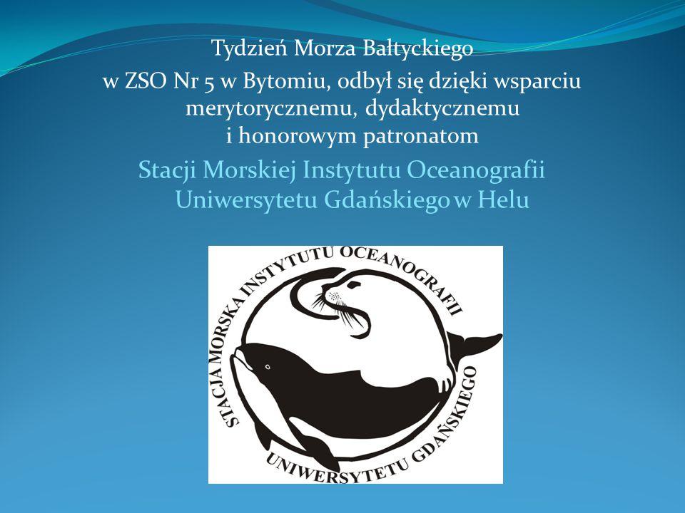 Stacji Morskiej Instytutu Oceanografii Uniwersytetu Gdańskiego w Helu