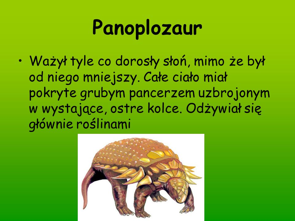 Panoplozaur