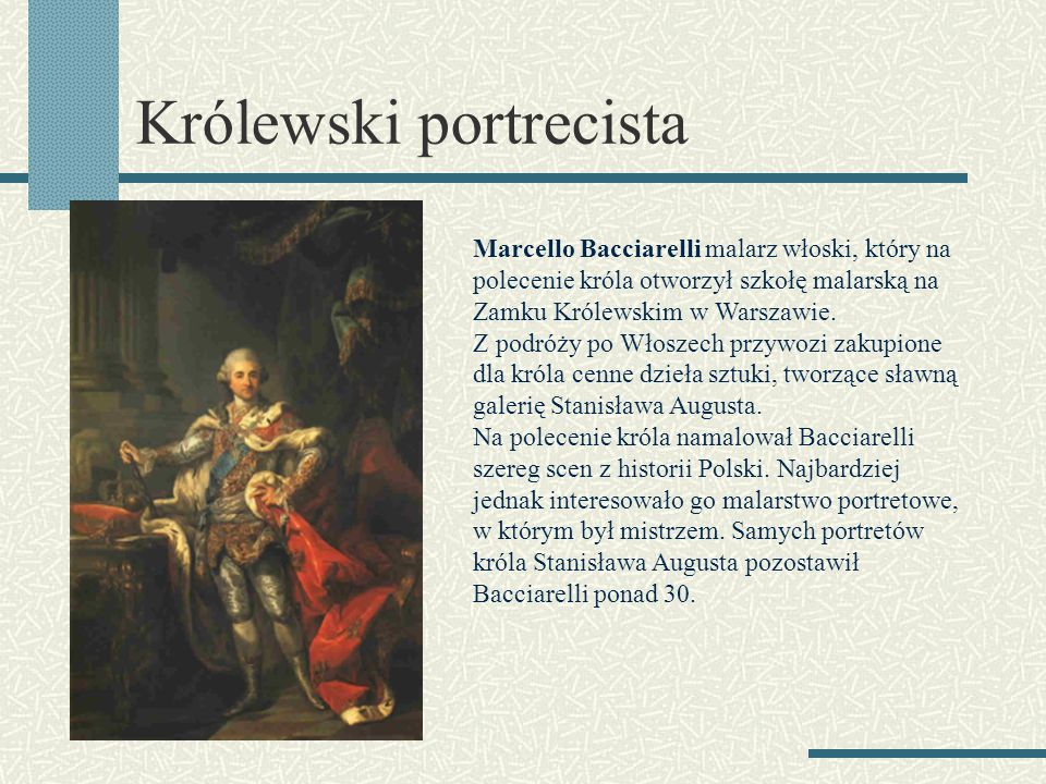 Królewski portrecista