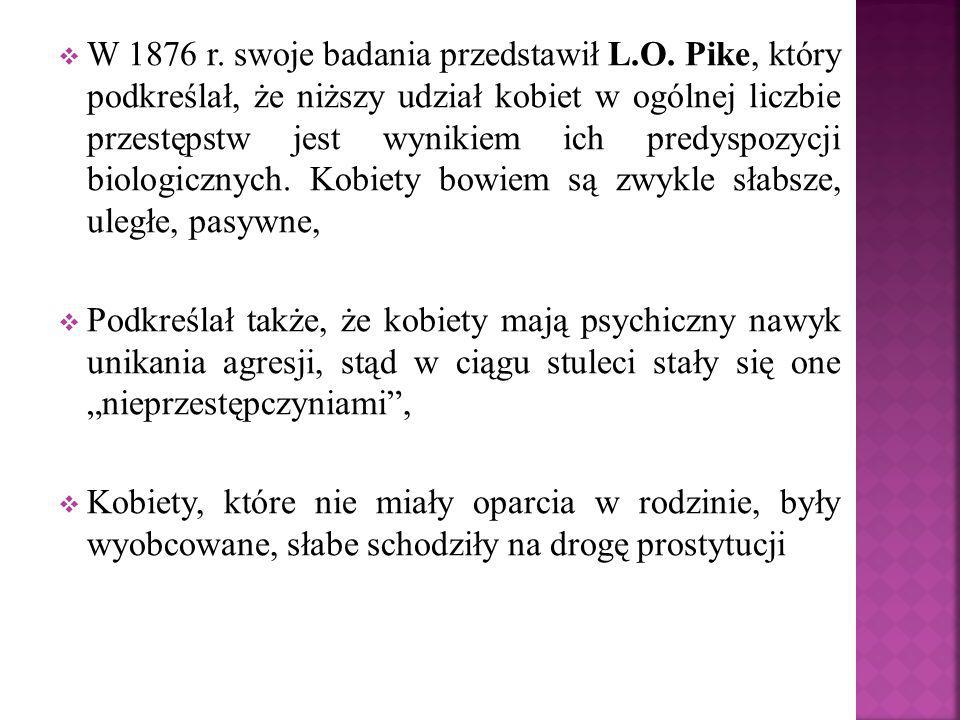 W 1876 r. swoje badania przedstawił L. O