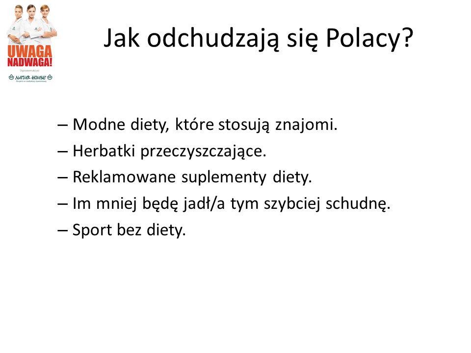 Jak odchudzają się Polacy