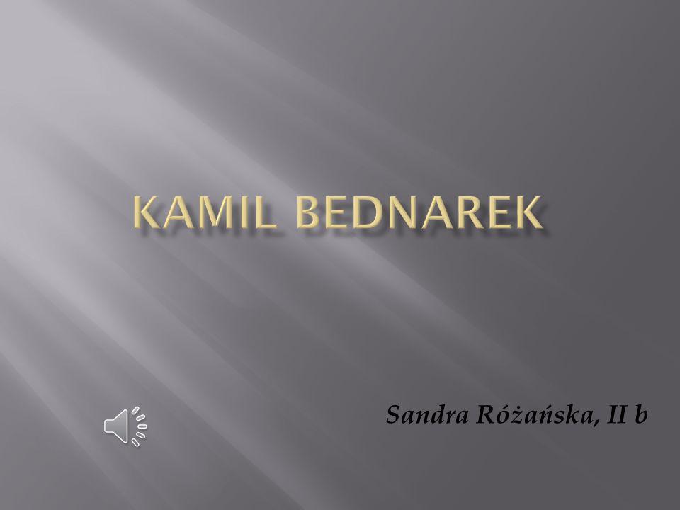Kamil Bednarek Sandra Różańska, II b