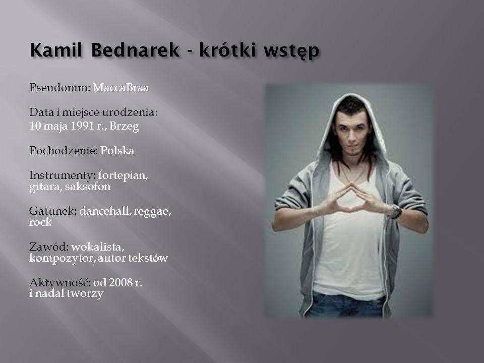 Kamil Bednarek - krótki wstęp
