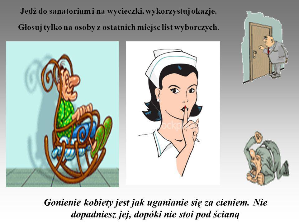 Jedź do sanatorium i na wycieczki, wykorzystuj okazje.