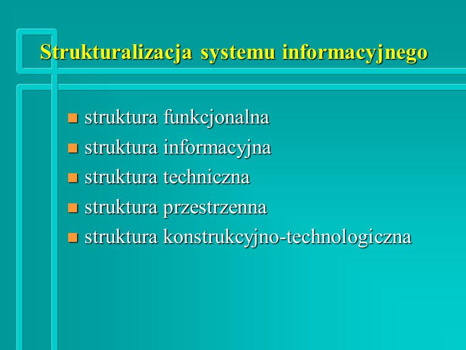 Strukturalizacja systemu informacyjnego