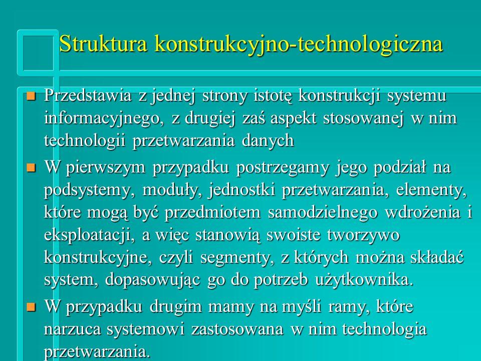 Struktura konstrukcyjno-technologiczna