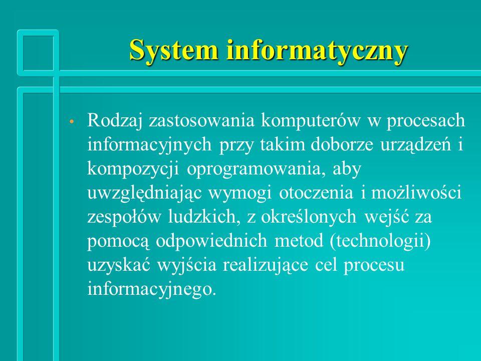 System informatyczny