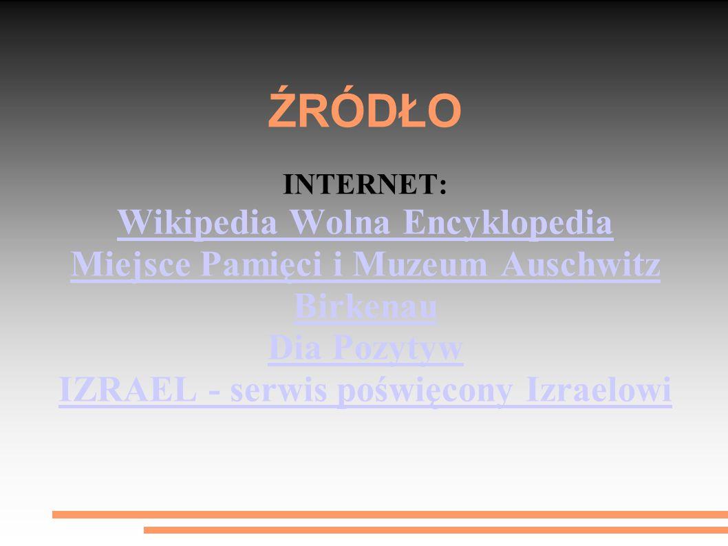 ŹRÓDŁO Wikipedia Wolna Encyklopedia
