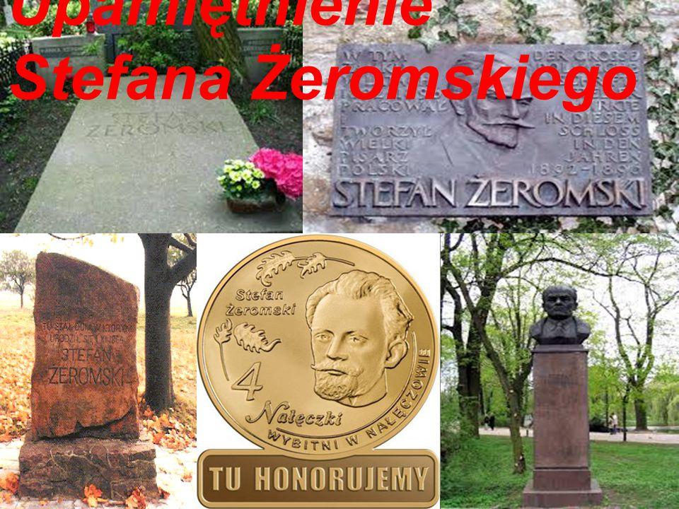 Upamiętnienie Stefana Żeromskiego