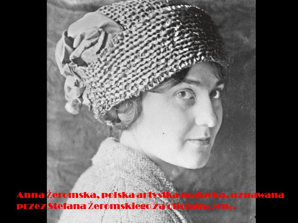 Anna Żeromska, polska artystka malarka, uznawana przez Stefana Żeromskiego za oficjalną żonę.